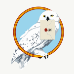 Snowy Owl mail delivery